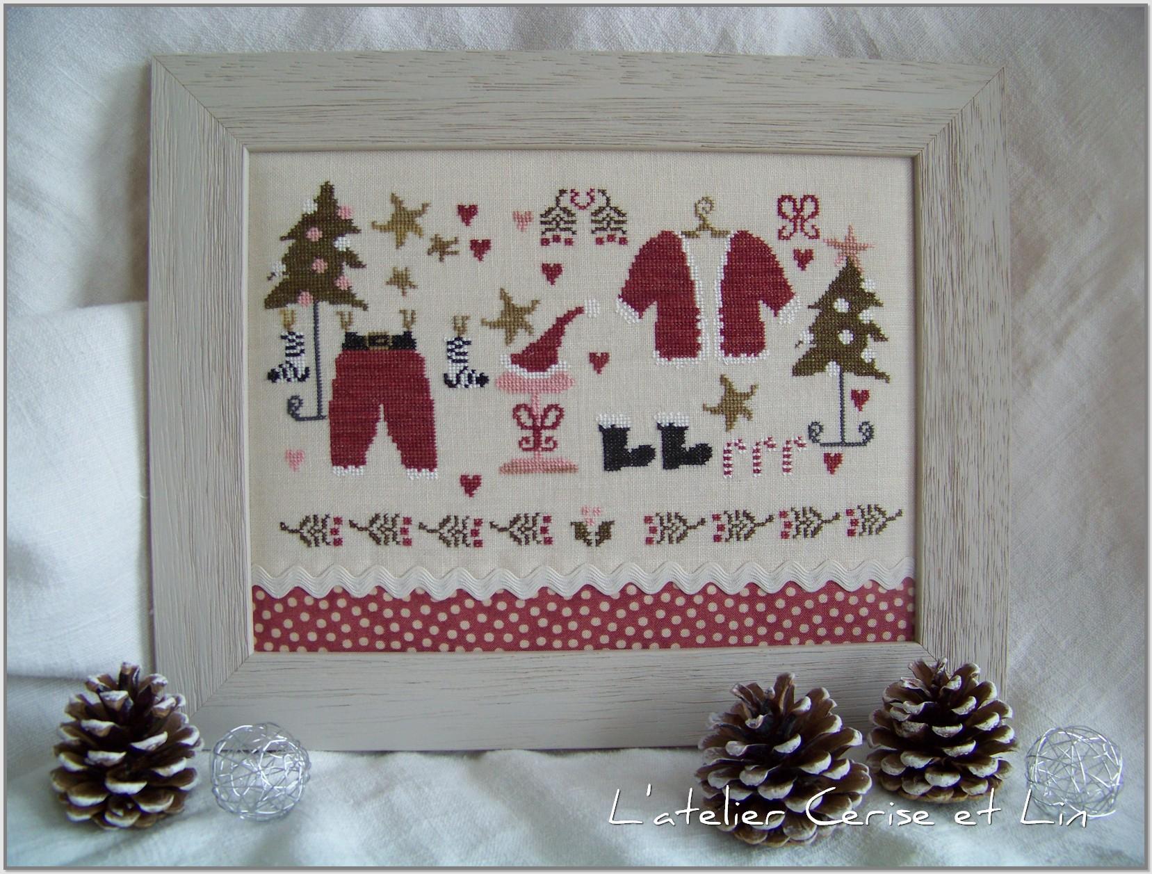 Cadre Armoire du Père Noël 005