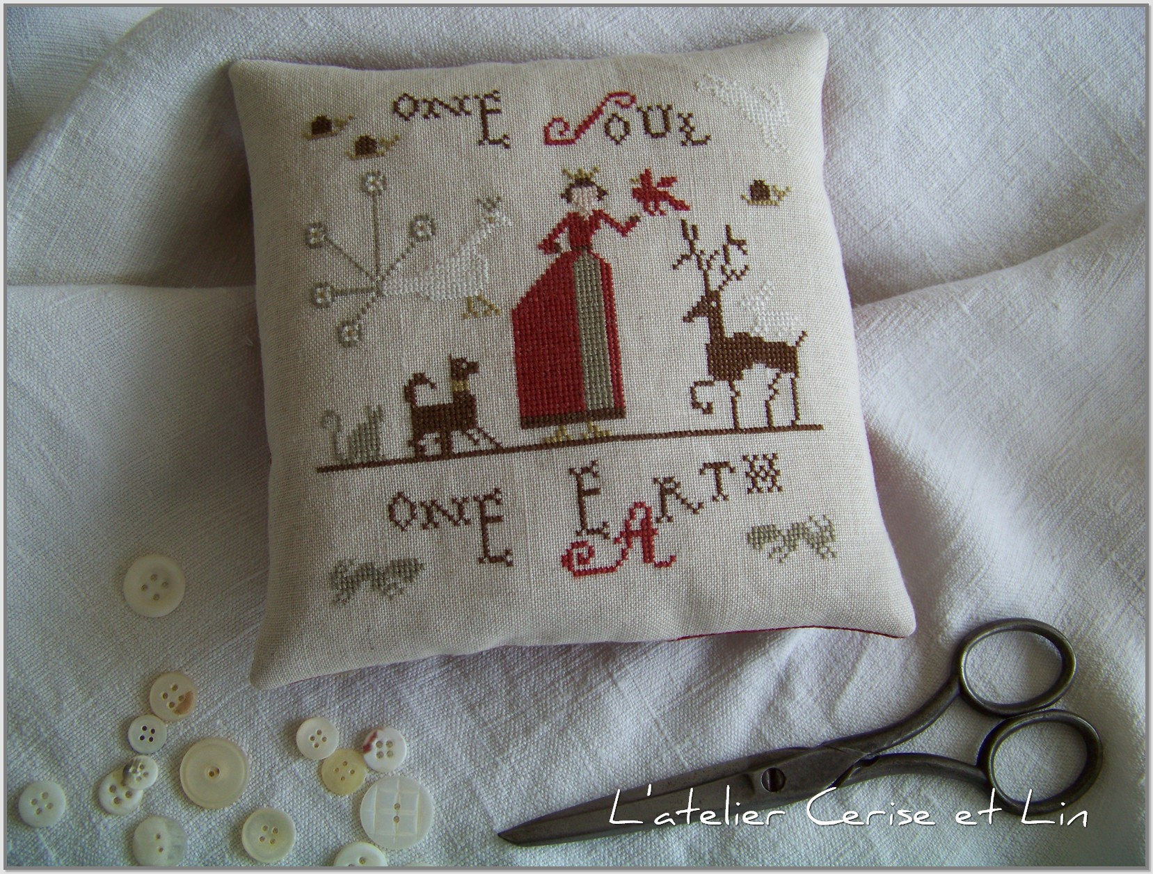 Coussin One Soul One Eartb 003