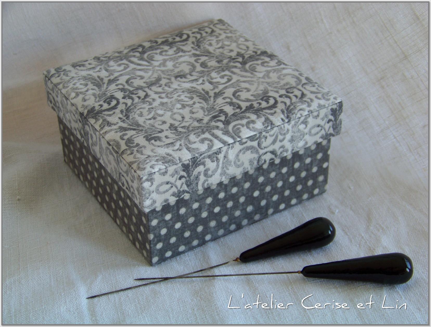 box boxes l 39 atelier cerise et lin. Black Bedroom Furniture Sets. Home Design Ideas