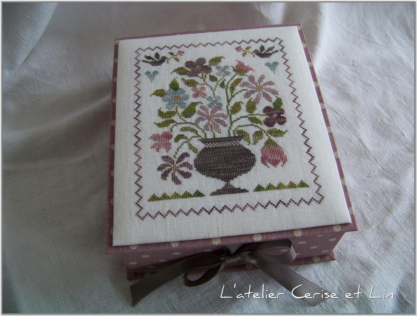 Boîte Tralala - Belles fleurs 010