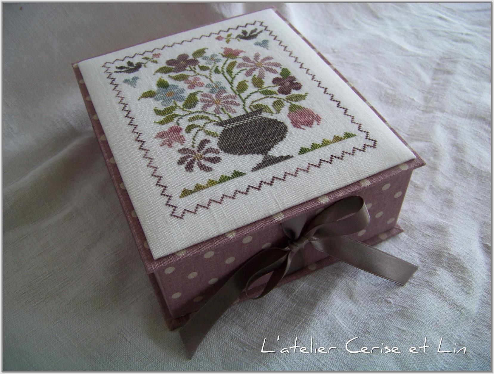 Boîte Tralala - Belles fleurs 013
