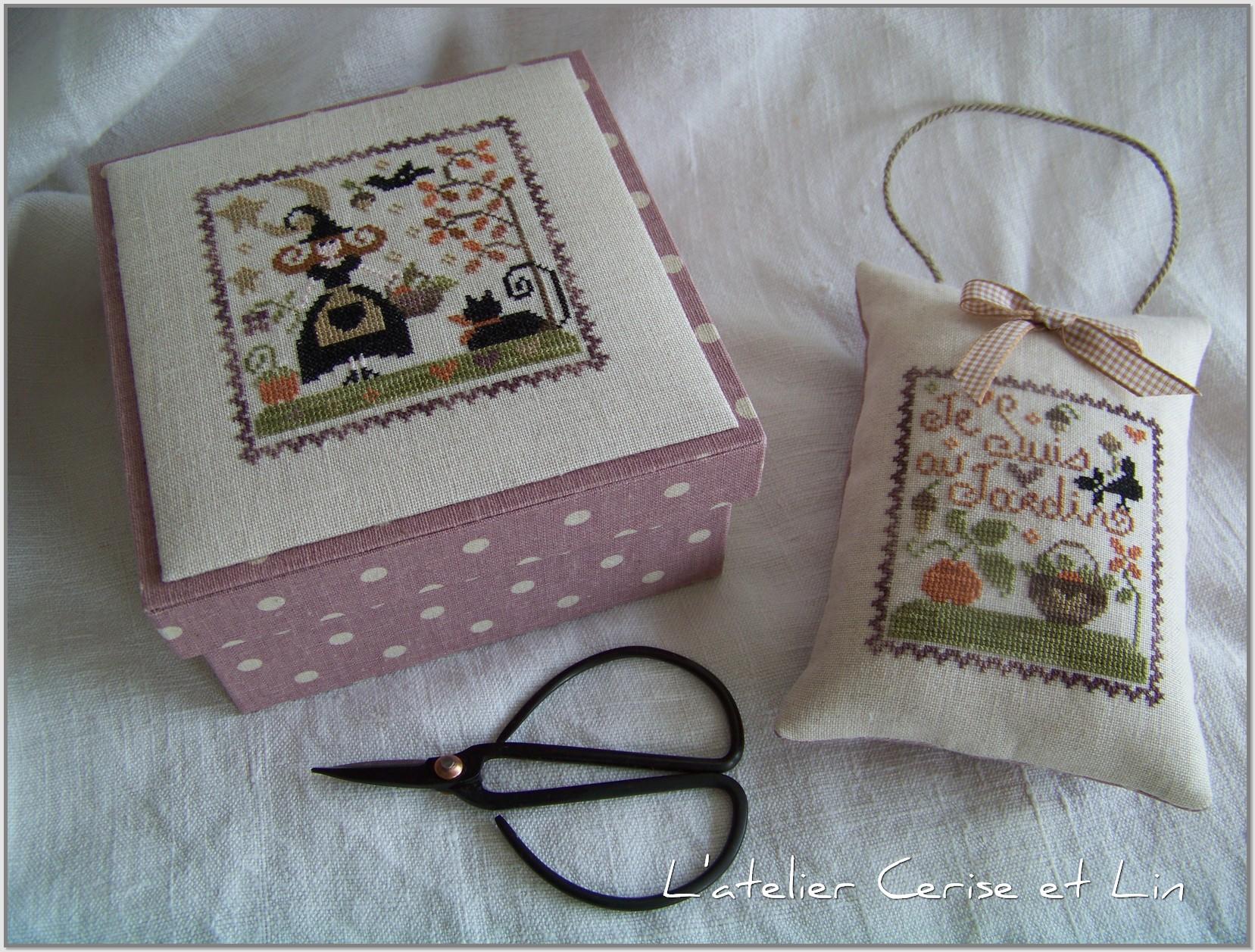 Boîte Tralala - Je suis au jardin automne 003