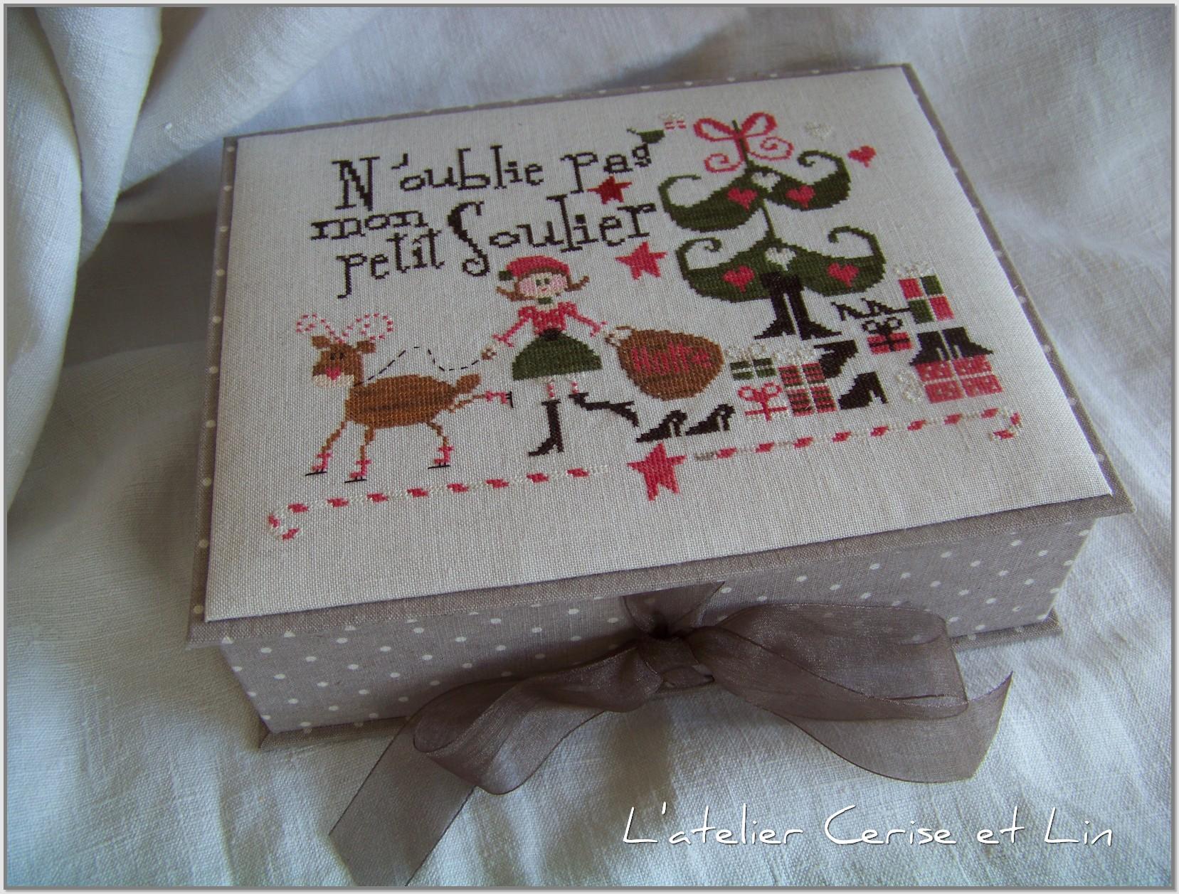 Boîte C mon Monde - Soulier 012