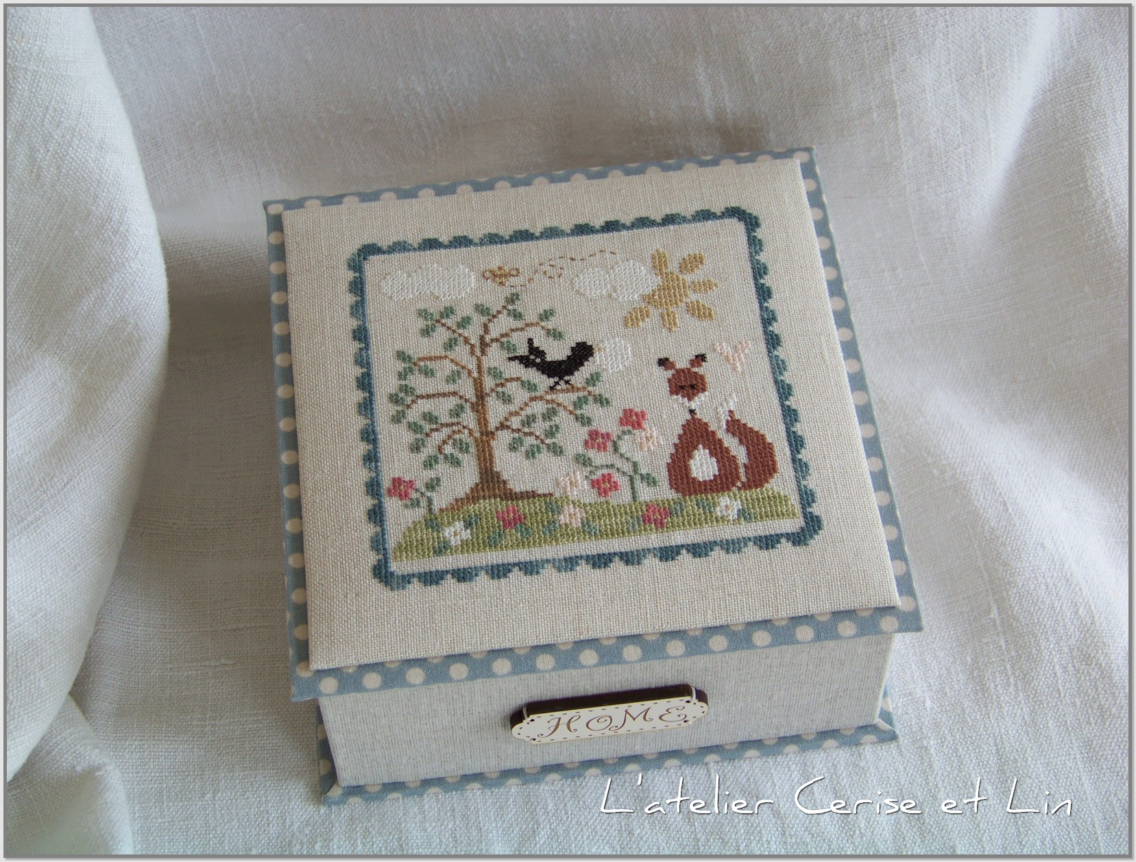 Boîte Tralal - Corbeau et Renard 008