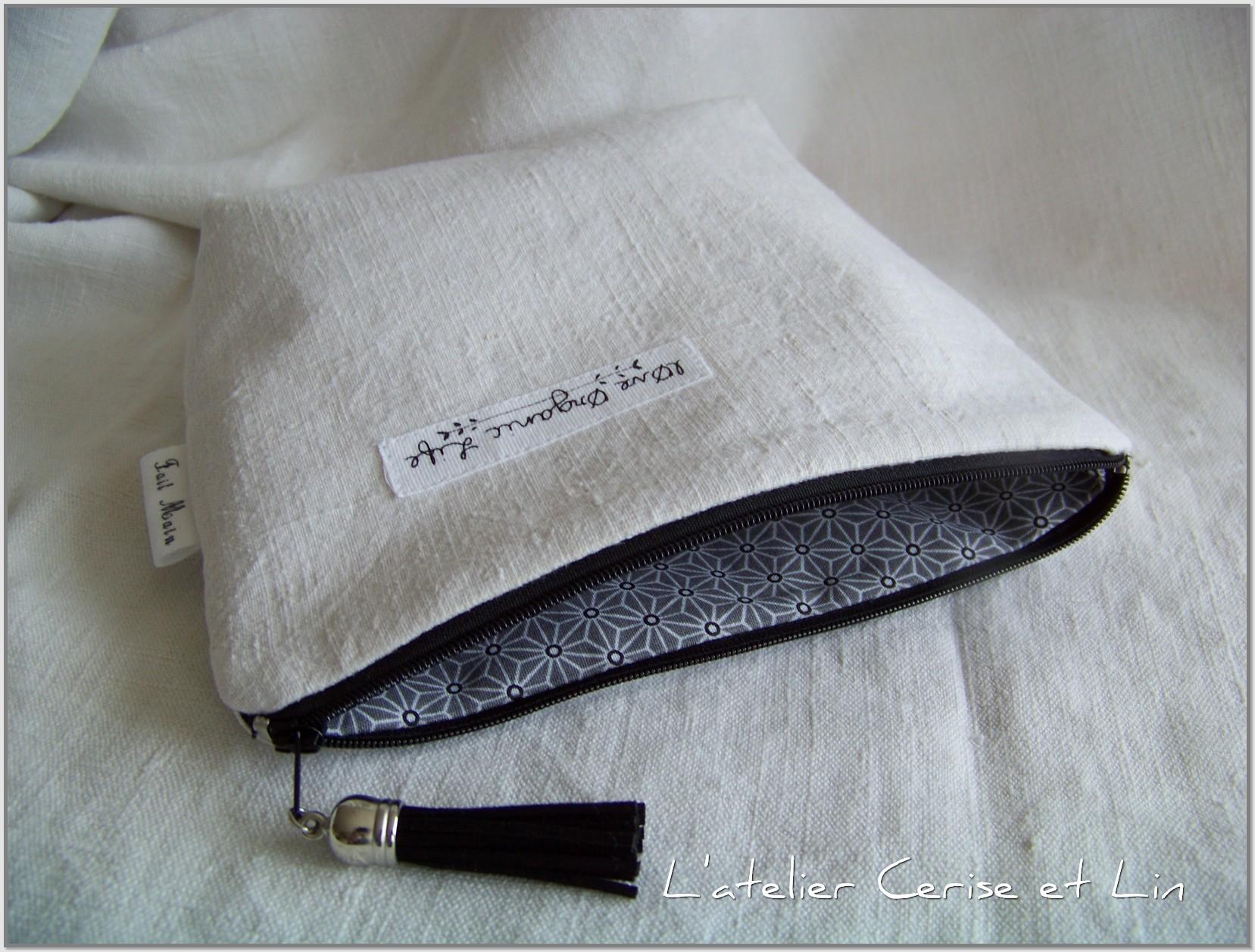 Trousses chanvre - Black & white 015